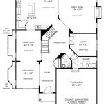 Madison first floor plan