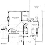 Sturbridge first floor plan