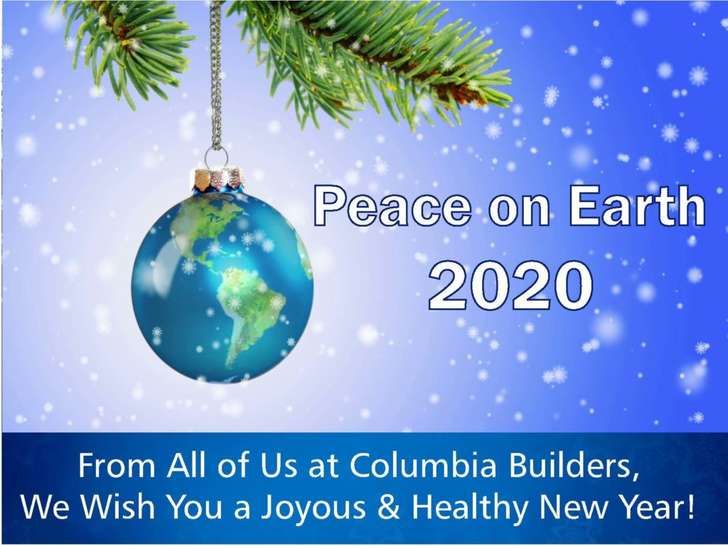 Peace on Earth 2020 New Year